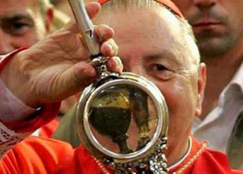 The Blood Of St Januarius