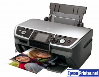 How to reset Epson R390 printer