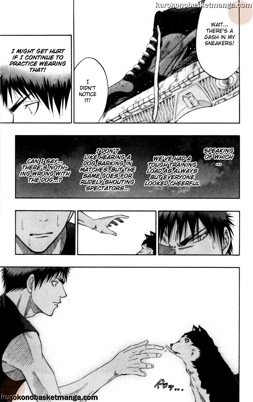 Kuroko no Basket Manga Chapter 74 - Image 17