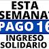 La transferencia del Ingreso solidario  16 podría realizarse esta semana.