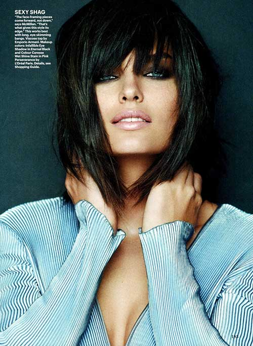 Marvelous Brunette Layered Bob Haircut With Highligts Fashion Qe Hairstyles For Women Draintrainus
