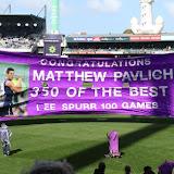 Pav's 350th. Fremantle v Sydney Round 19 2016.