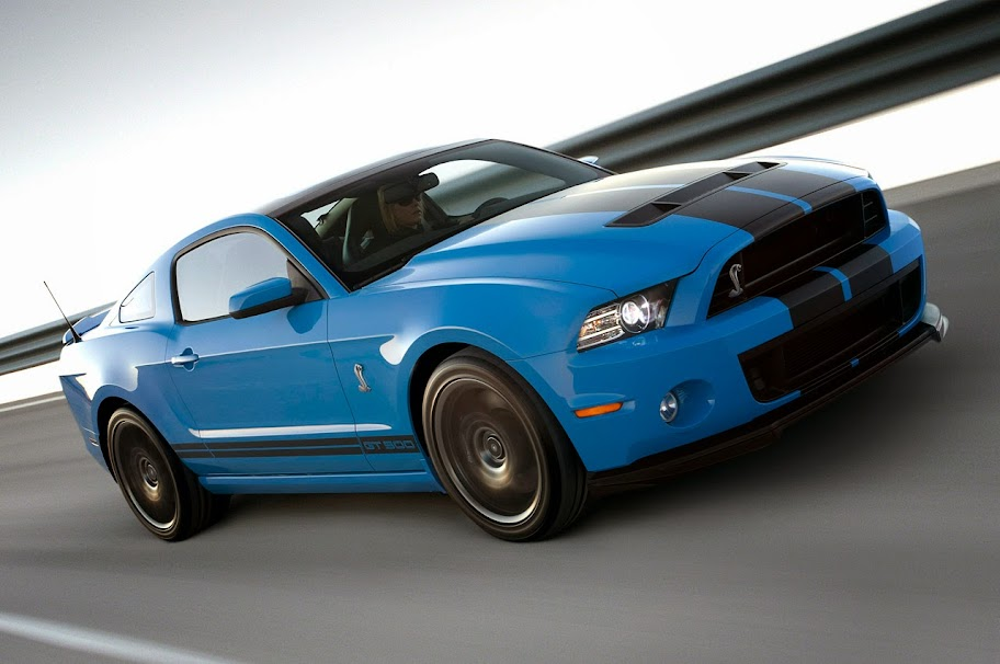 2013 Ford Mustang Shelby 500 GT