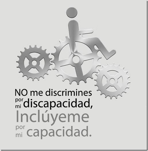 no me discrimines