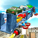 Flying Car Transport Truck 3D icon
