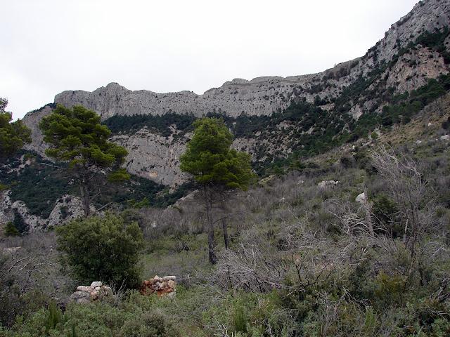 senderismo Pujador de Valero Pas de la Finella Mola Grossa Tossal d'Engrillo