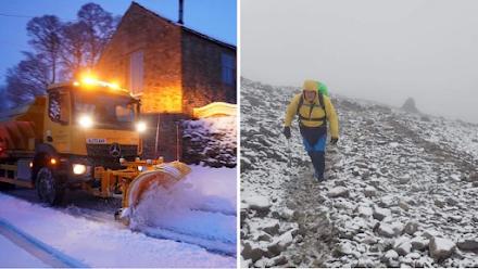 Τα πρώτα χιόνια είναι γεγονός σε περιοχές του Ηνωμένου Βασιλείου αν και βρισκόμαστε στον Σεπτέμβριο