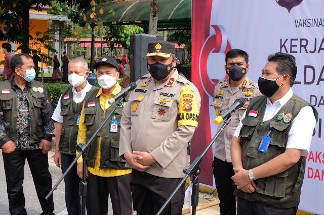 Polda Riau Gandeng Unri Dorong Percepatan Herd Immunity Kampus