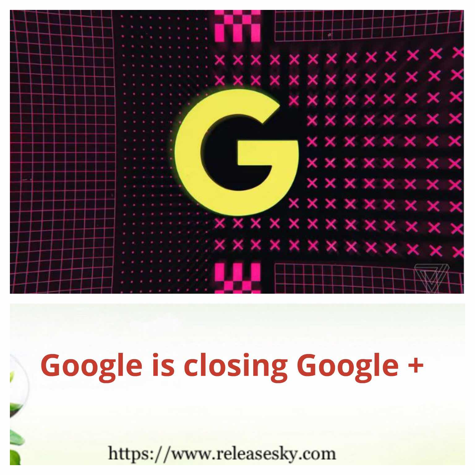 Google is closing Google+