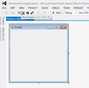 WinForm Designer View in Visual Studio