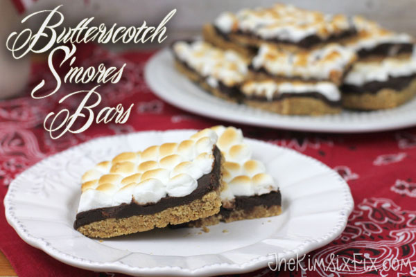 Butterscotch Smore Bars