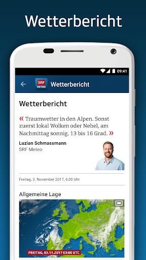 SRF Meteo - Wetter Prognose Schweiz  screenshots 6