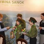22.12.2014 - przekazanie Pani Annie Hałas, Wójt Gminy Sanok.JPG