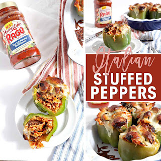Italian Stuffed Peppers with RAGÚ® Homestyle Sauce