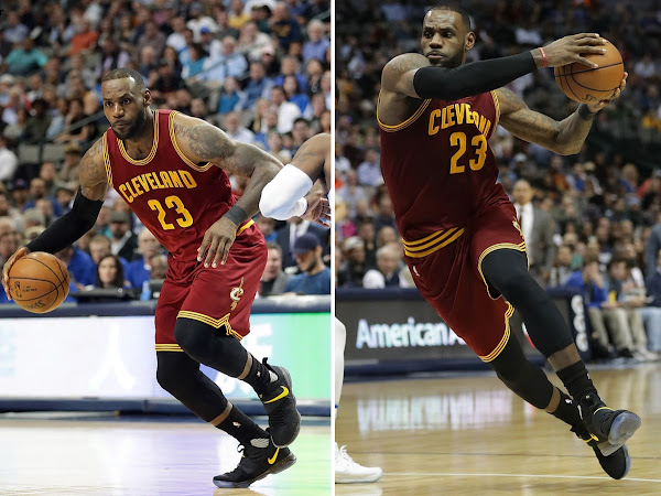 LeBron James Debuts His Beloved Batman Look on the Nike LeBron 14