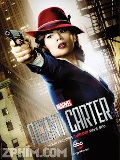 Đặc Vụ Carter 1 - Marvel's Agent Carter Season 1 (2015) Poster