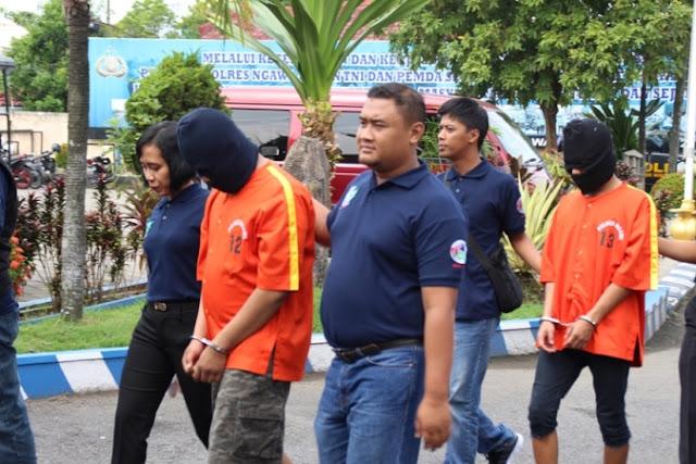 Seorang mahasiswa ditangkap Polisi saat kedapatan bawa daun ganja