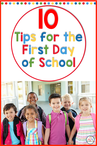 10 back to school tips for teachers- 10 tips to help you start your first day of school with ease