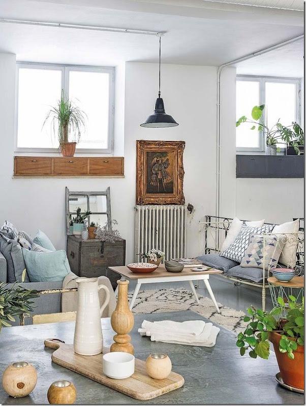 casa-loft-stile-boho-chic- industriale (8)