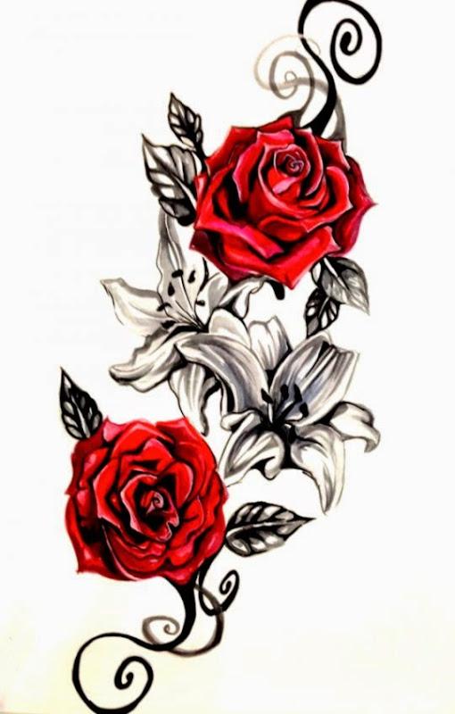 25 Rose Tattoo Designs