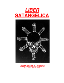 Cover of Nathaniel Harris's Book Liber Satangelica