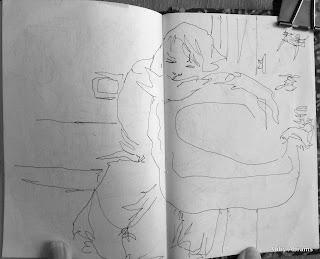 Waverly Pl. bthrm diary sketch 2462x1991 2462x1991