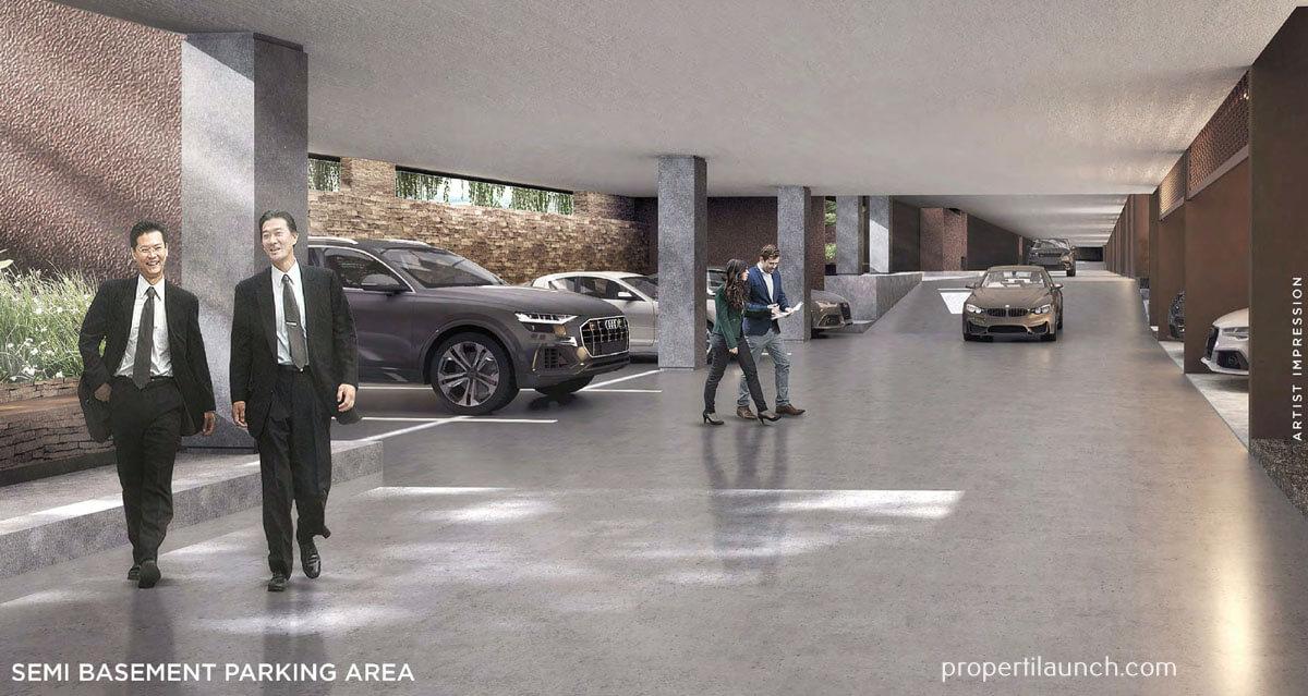 Capital Cove Business Loft BSD - Semi Basement Parking