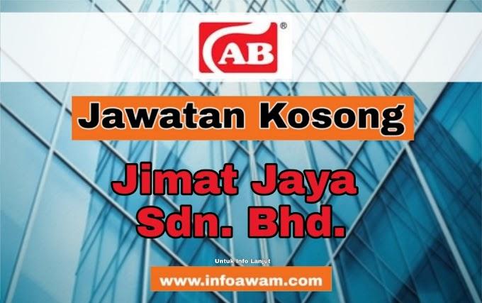 Jawatan Kosong Terkini Di Jimat Jaya Sdn. Bhd