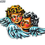 Photo - Angel and Demon Tattoos Designs