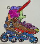 Rollerblades by Benjamin