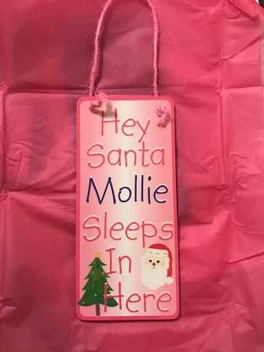personalised kids christmas gift