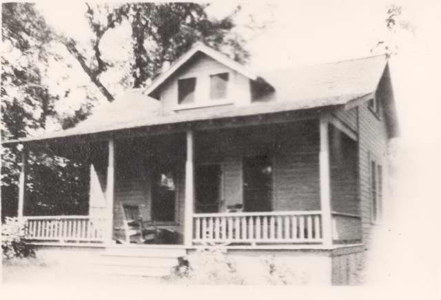 Forrest Campbell house on Apple Island