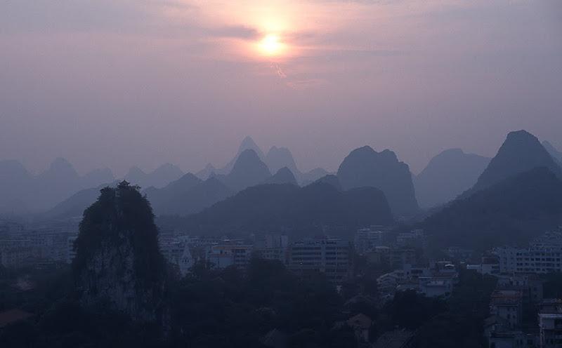 5. Sunset at Guilin