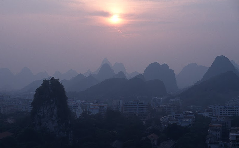 5. Sunset at Guilin