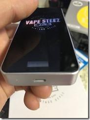 IMG 2077 thumb - 【本体】「VAPE STEEZ VS-1」レビュー。誰でも簡単にVAPEが楽しめるイージーなスターターキット!【VAPE/スターターキット/初心者/電子タバコ】