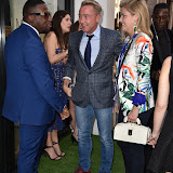 OIC - ENTSIMAGES.COM - Michael Flatley and Niamh O'Brien at the  Mike Dargas - private view at Opera Gallery in London  5th July 2016 Photo Mobis Photos/OIC 0203 174 1069