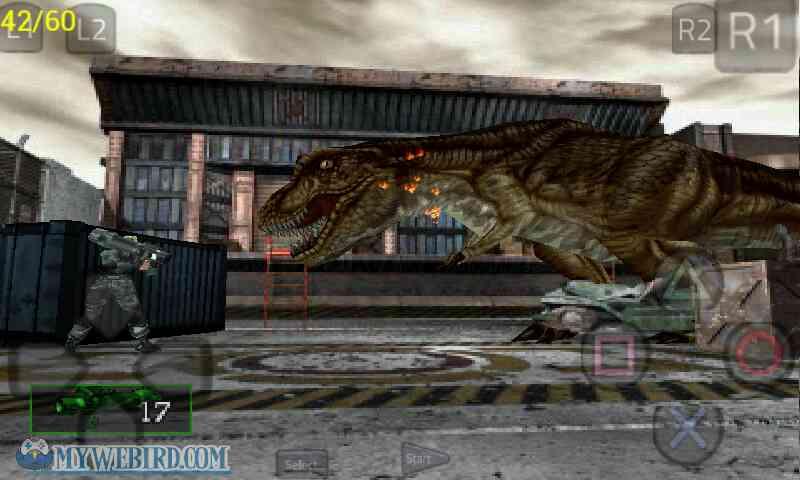 dino crisis 2 vs T-Rex