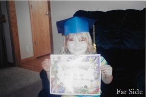 Maddie 2003 Preschool Graduation
