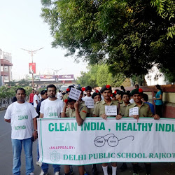 2015-10-18 Rally - Clean India, Healthy India