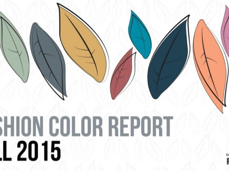 Tendencias de color Otoño 2015