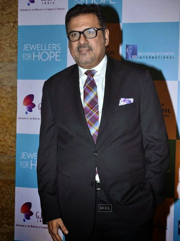 Boman Irani at the Gems and Jewellery Export Promotion Council (GJEPC) charity gala dinner at Grand Hyatt, Mumbai. (Pic: Viral Bhayani)