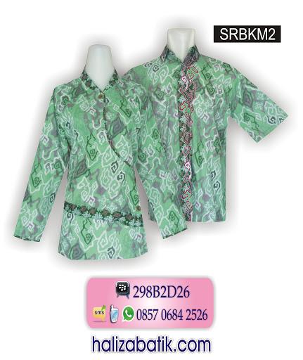 grosir baju batik, model baju baru, busana batik