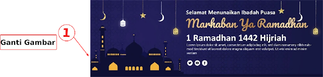 Download Template Desain Spanduk Ramadhan  Gratis