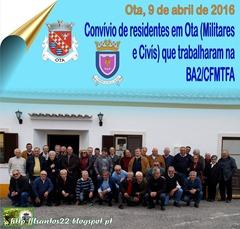Convivio  residentes Ota que trabalharam na Base 09.04.16