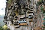 Sagada: les cercueils suspendus