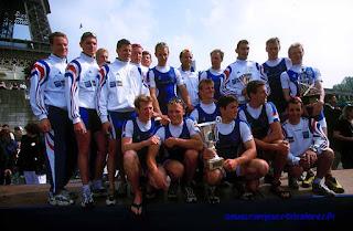 2000-La saison de l'équipe de France d'aviron