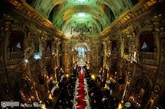 Foto 2653. Marcadores: 11/06/2010, Casamento Camille e Paulo, Igreja, Igreja Nossa Senhora Monte do Carmo, Rio de Janeiro