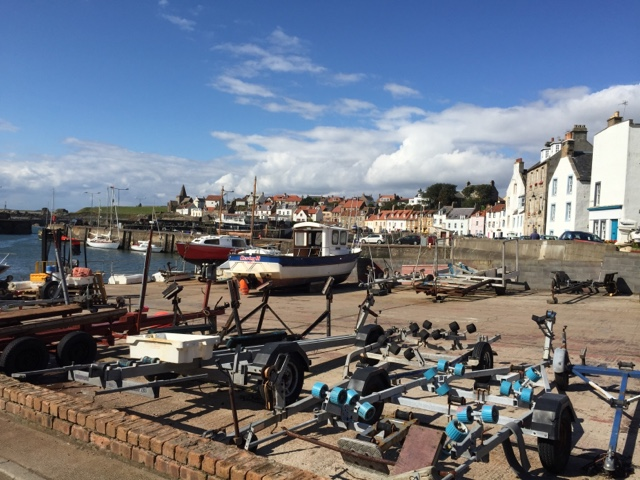 St Monans - #LoveFife Chocolate, Seafood and Gin in the East Neuk