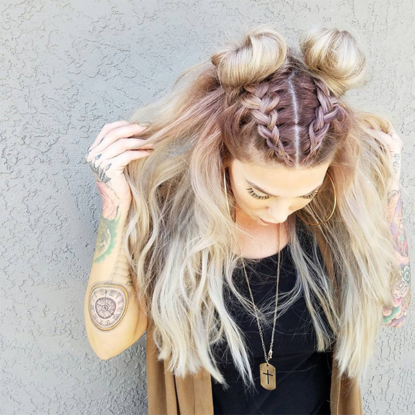 THE BEST MUSIC FESTIVAL HAIR FOR PRETTY LADIES IN ALL VARIOUS OCCASIONS 11