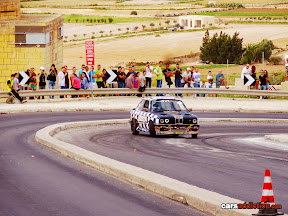 BMW E30 Hill Drift